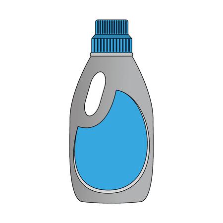 Liquid detergent bottle vector illustration graphic design Illustration