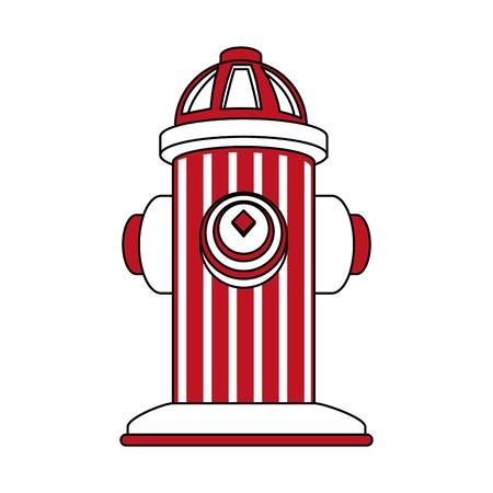 Hydrant noodhulp vector illustratie grafisch ontwerp Vector Illustratie