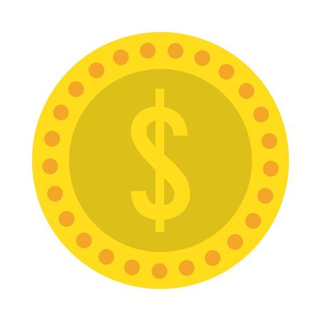 Money coin cartoons vector illustration graphic design Çizim
