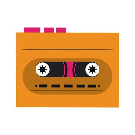 Music cassette symbol vector illustration graphic design