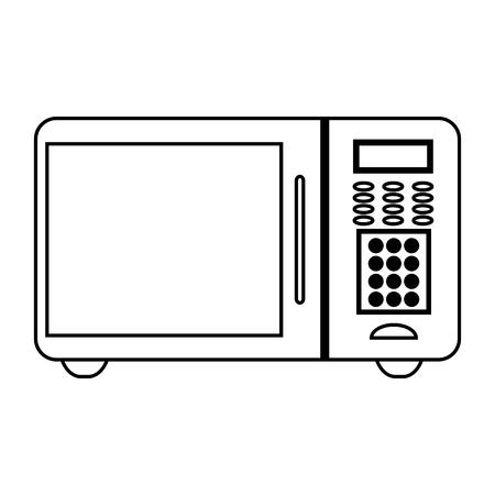 Microwave kitchen appliance