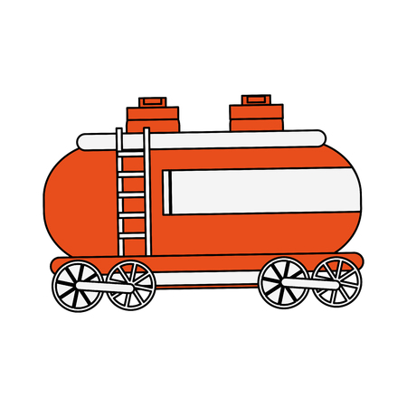 Natural gas container vector illustration graphic design