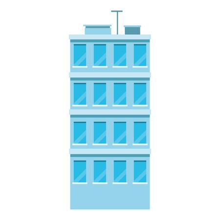 City urban building vector illustration graphic design
