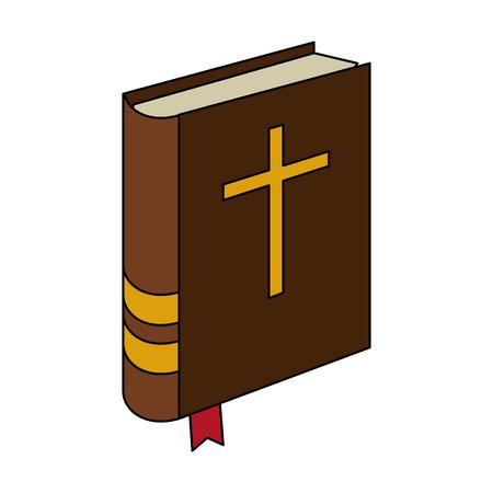 Holy bible symbol vector illustration graphic design. Çizim
