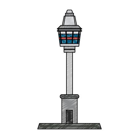 sydney tower eye vector illustration graphic design