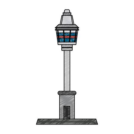 sydney tower eye vector illustration graphic design