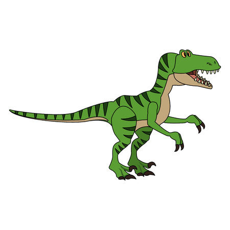 T-Rex cartoon vector illustration graphic design