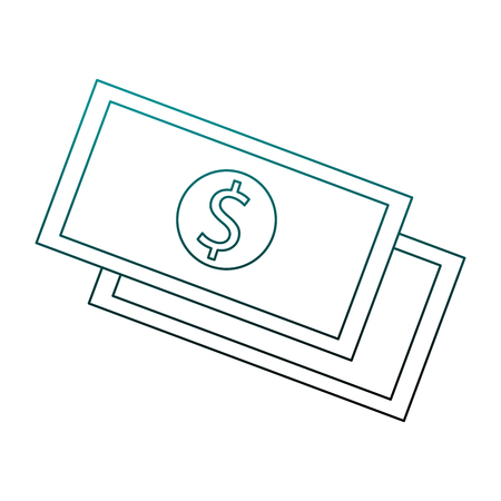 Money and cash symbol vector illustration graphic design 일러스트