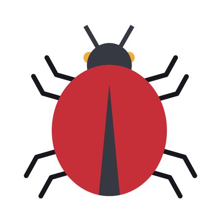Bug sign symbol vector illustration graphic design