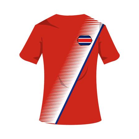 Iceland national tshirt soccer sport wear illustration graphic design.