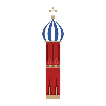 Saint basils cathedral vector illustration graphic design