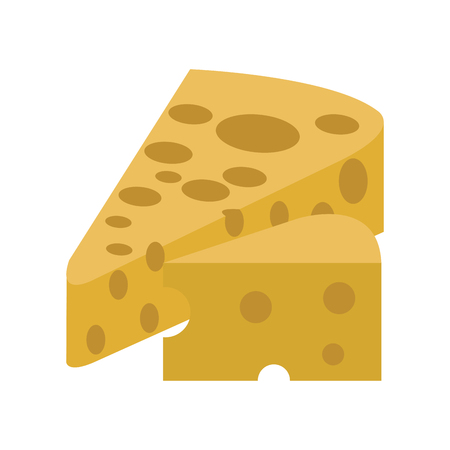 Delicious cheese isolated vector illustration graphic design 矢量图像