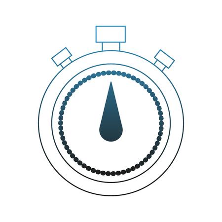 Chronometer timer symbol vector illustration graphic design