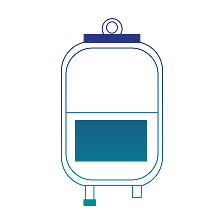 A blood bag isolated vector illustration graphic design Stock Vector - 99516278