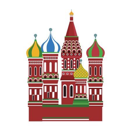 St basil cathedral vector illustration graphic design