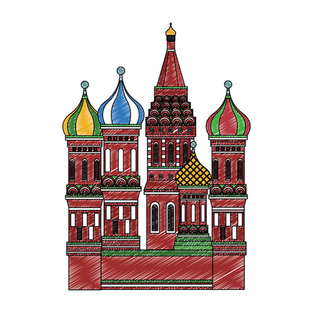St basil cathedral vector illustration graphic design