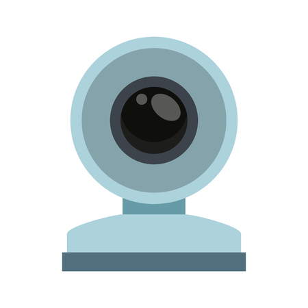 Webcam technology symbol vector illustration graphic design