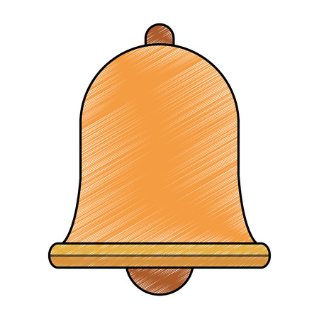 Bell isolated symbol vector illustration graphic design Ilustrace