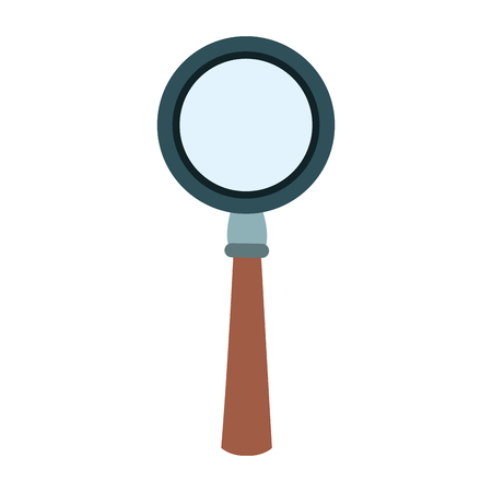 Magnifying glass symbol vector illustration graphic design.