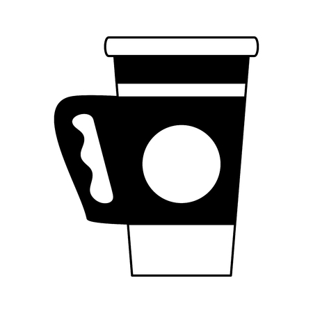 Coffee to go cup vector illustration graphic design 일러스트