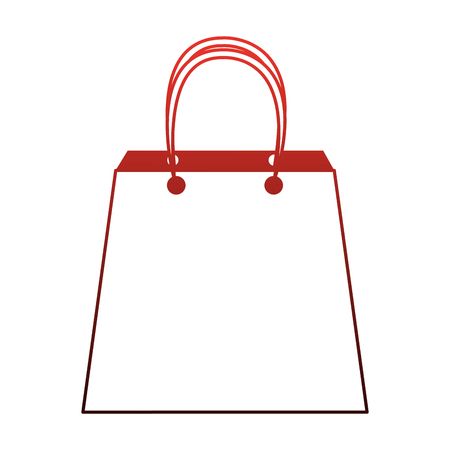 Shopping bag symbol vector illustration graphic design. Vectores