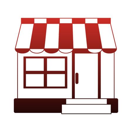 Shop store symbol vector illustration graphic design