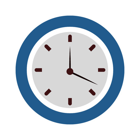 Wall clock symbol vector illustration graphic design Иллюстрация