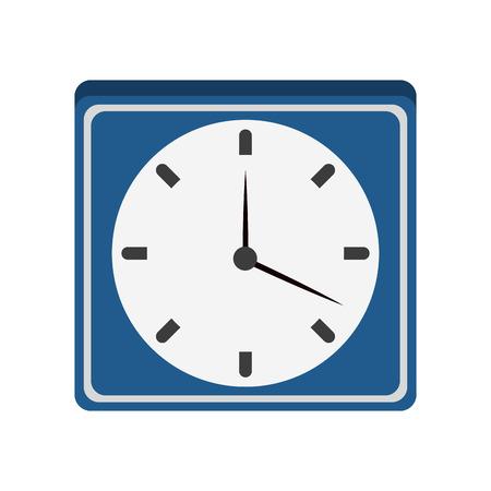 Wall clock symbol vector illustration graphic design Çizim