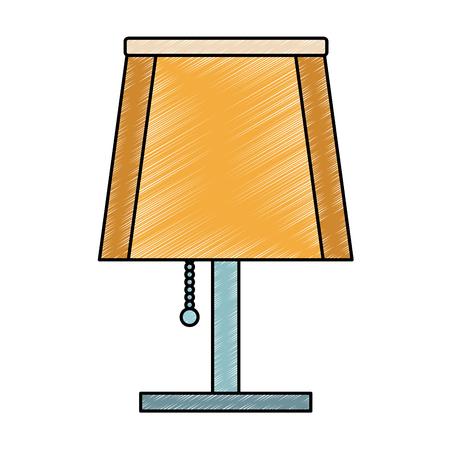 night light lamp vector illustration graphic design