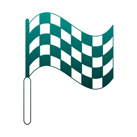 Referee Linesman Flag vector illustration graphic design