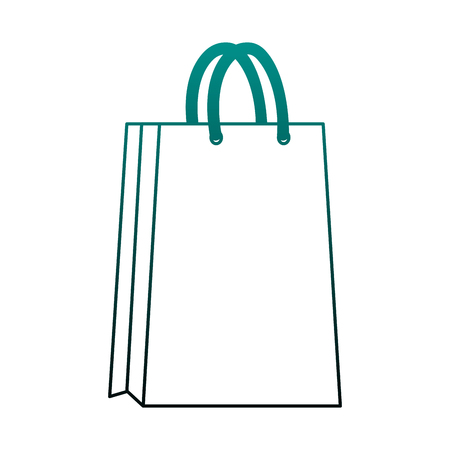 Shopping bag isolated vector illustration graphic design