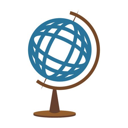 World globe symbol vector illustration graphic design