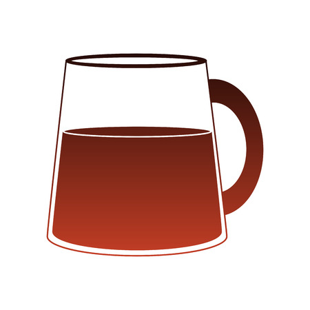 Delicious juice jar vector illustration graphic design