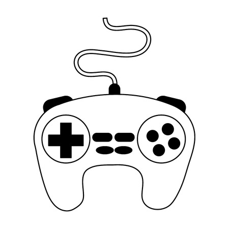 Console gamepad isolated vector illustration graphic design Illustration