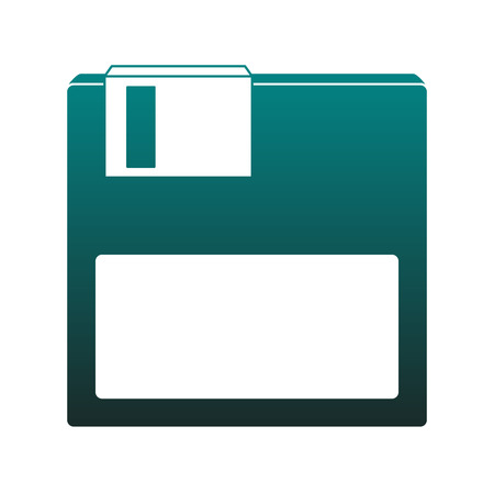 Diskette save symbol vector illustration graphic design
