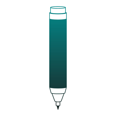 Office pen isolated vector illustration graphic design  イラスト・ベクター素材