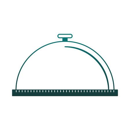 Dish dome isolated vector illustration graphic design Illustration