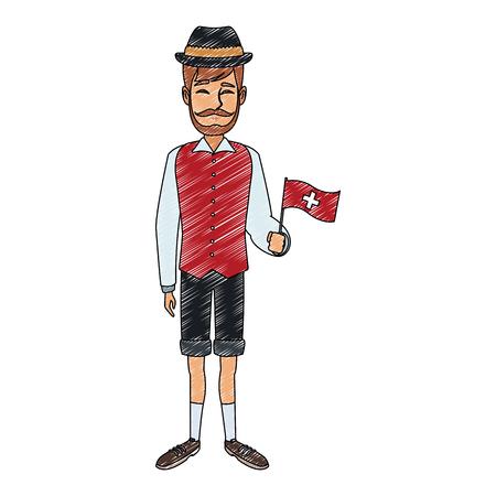 Swiss farmer man