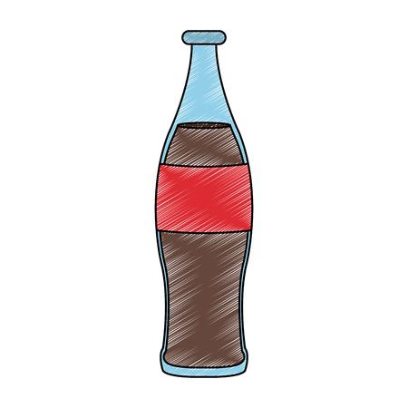 Soda cola bottle  イラスト・ベクター素材