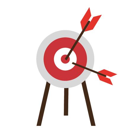 Dartboard  vector illustration graphic design