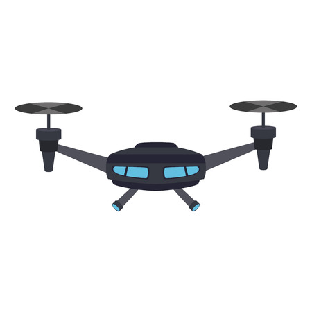 RC drone isolated vector illustration graphic design Ilustracja