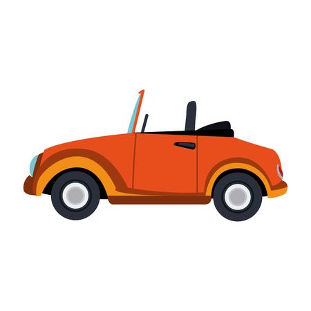 Classic sport car vector illustration graphic design