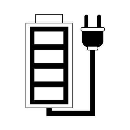 Rechargeable battery symbol vector illustration graphic design Illustration