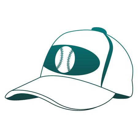 baseball sport hat vector illustration graphic design royalty free rh 123rf com Baseball Player Vector Vector O Baseball Bat