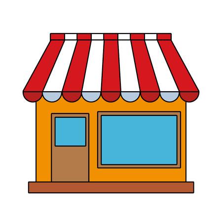 Store shop building vector illustration graphic design 向量圖像