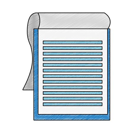 Clipboard document symbol vector illustration graphic design Reklamní fotografie - 105905321