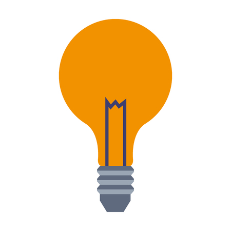 Bulb light symbol vector illustration graphic design
