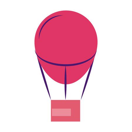 Hot air balloon vector illustration graphic design