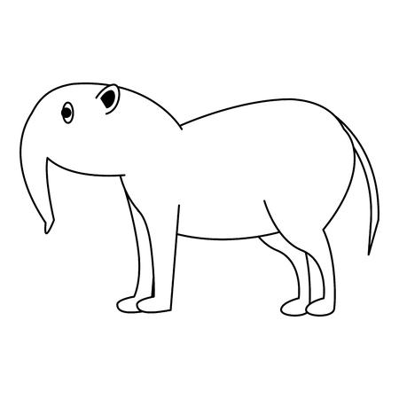 wild animal vector illustration graphic design