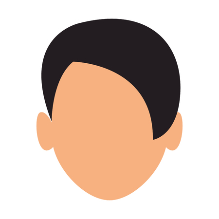 Man faceless head vector illustration graphic design vector illustration graphic design Ilustração